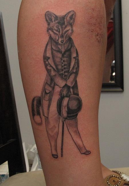 Robert Hendrickson - Fancy Fox Tattoo